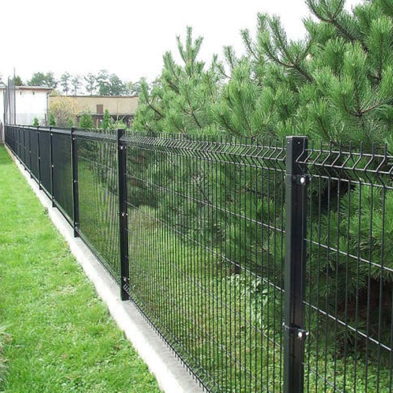 ECO Friendly Decorative PVC coated Welded Wire Mesh Fence
