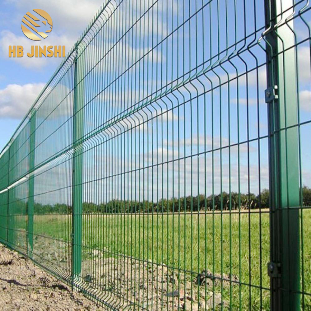 "50  x 200mm Mesh 5mm Wire 1.83 x 2.0 m 3D Welded Wire Mesh Fence Panel with ""V"" Folding"