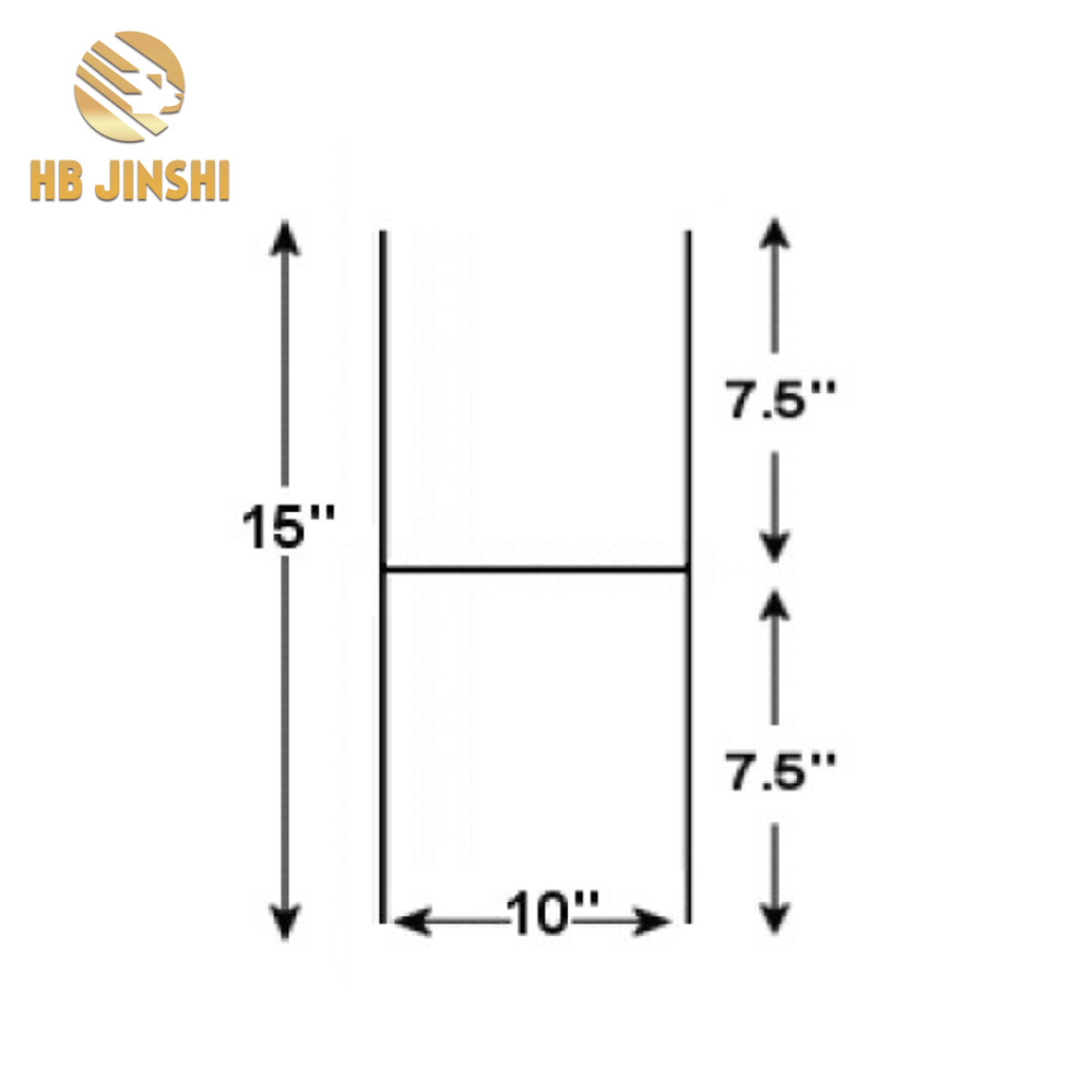 Metal Wire H Ground Stakes