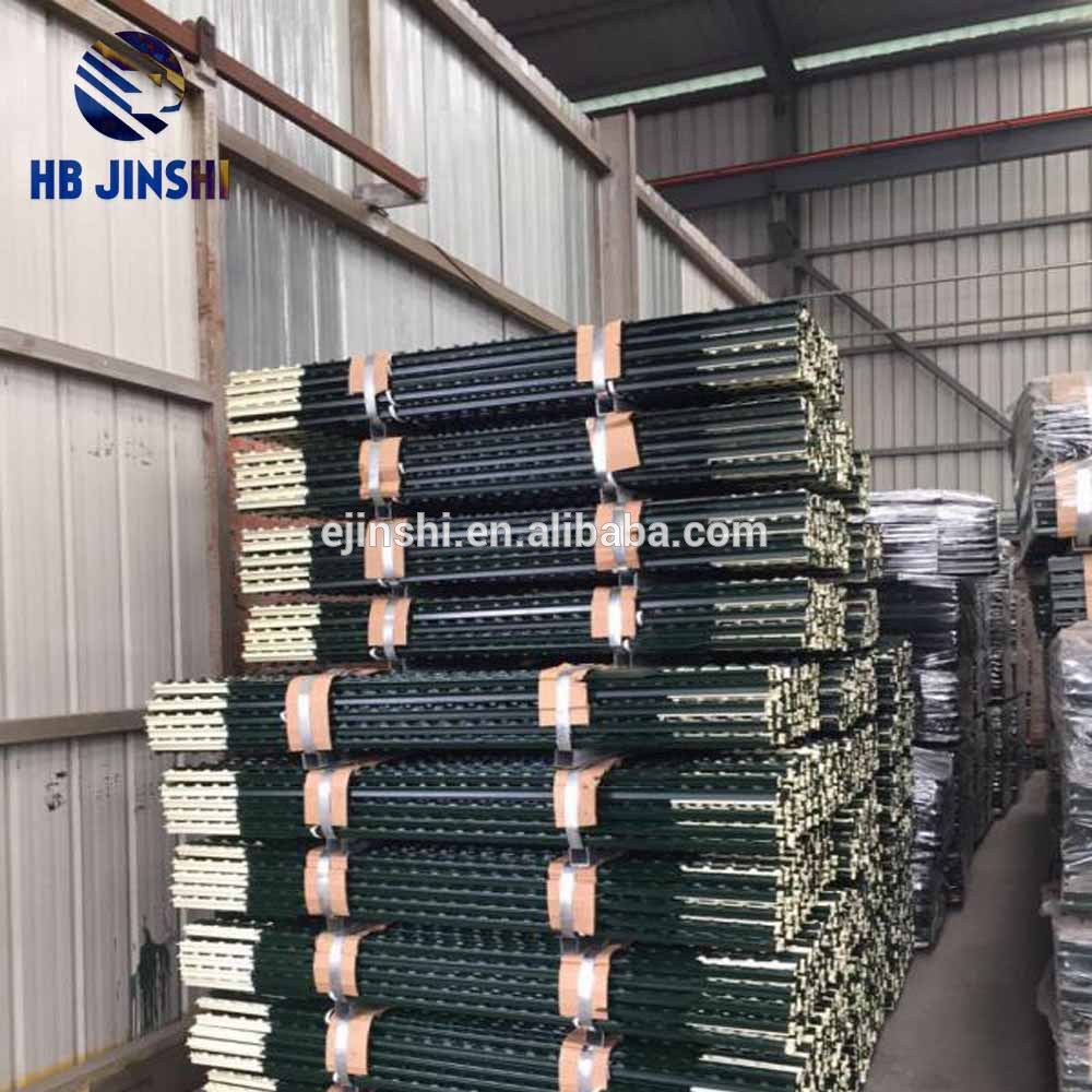 Metal Frame Material high carbon steel T post made in Hebei