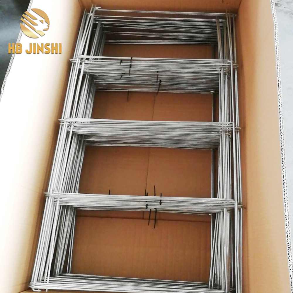 Square Type Folded Tomato Cage Plant Support factory