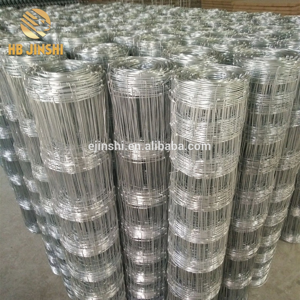 strong tensile resistance galvanized Livestock grassland filed fence