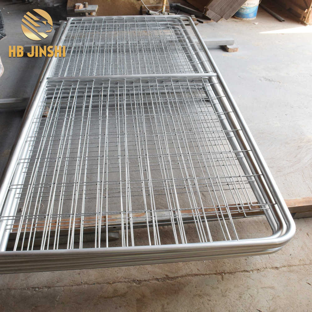 12 FT farm gates welded mesh farm gate made in China