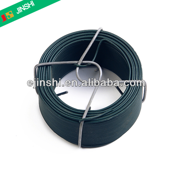 Insulated tie wire plastic PE PVC coated wire garden wire factory