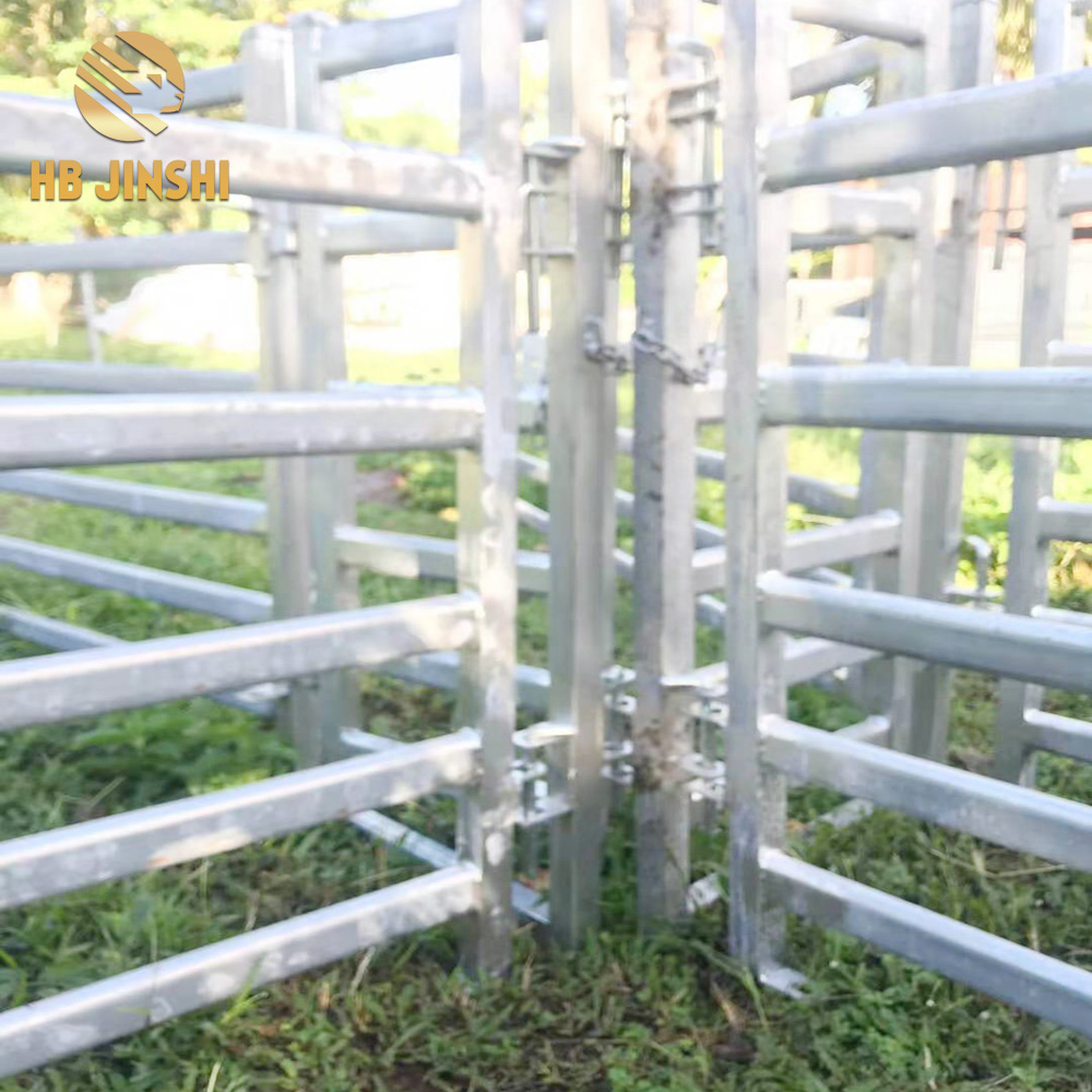Hot dipped galvanized sheep panel yard for sale