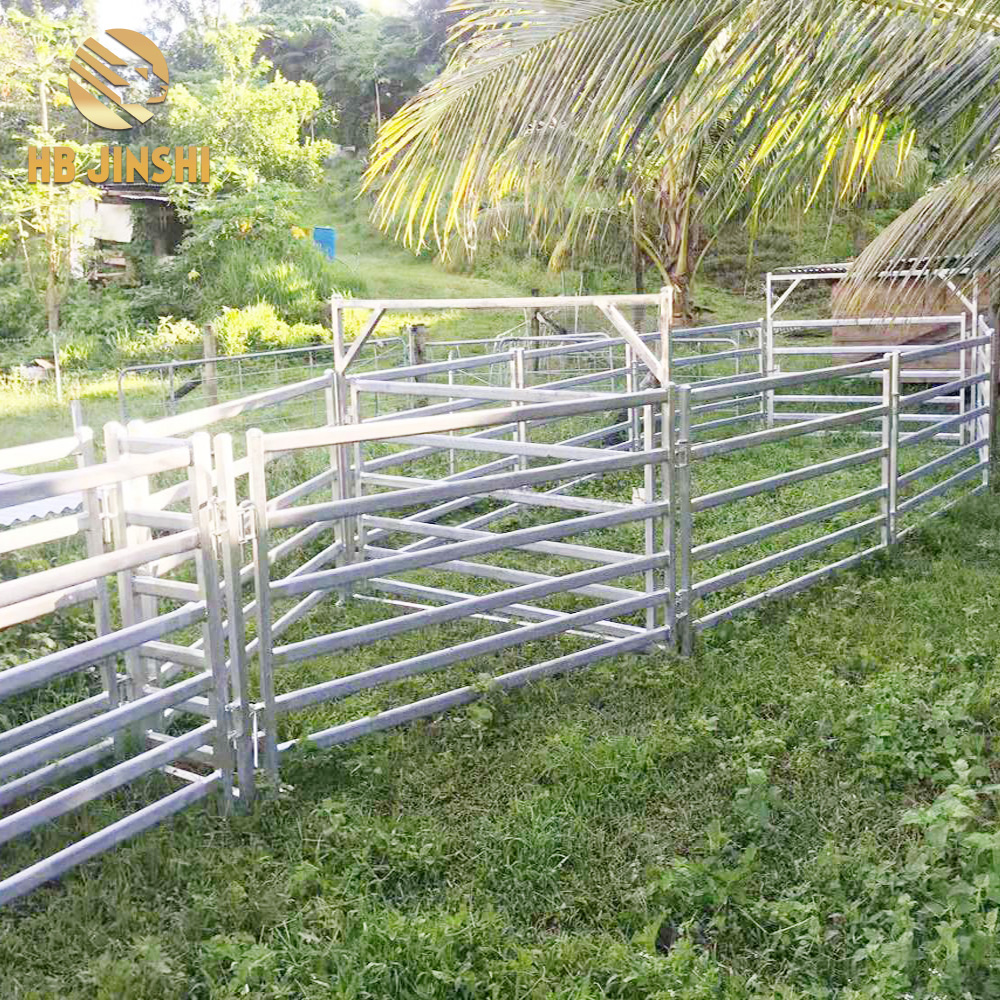 6 Rail sheep panels removable ranch fence panel factory