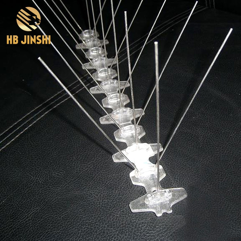 30cm 18 Spikes Stainless Steel Bird Repellent  Anti Pigeon Devices Bird Spikes