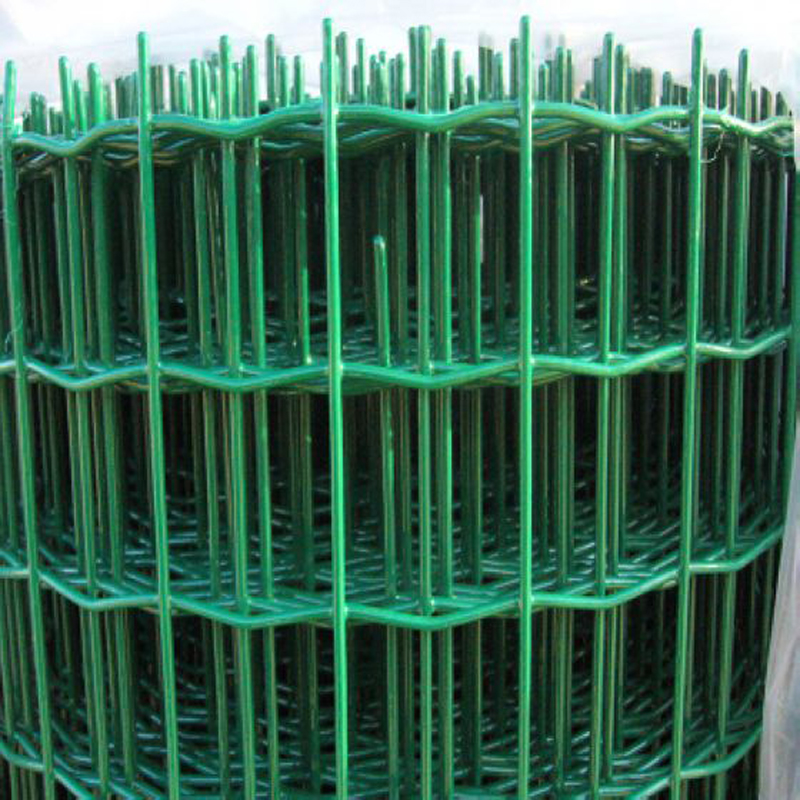 Dark Green Wave Welded Mesh Fence, Holland Wire Mesh