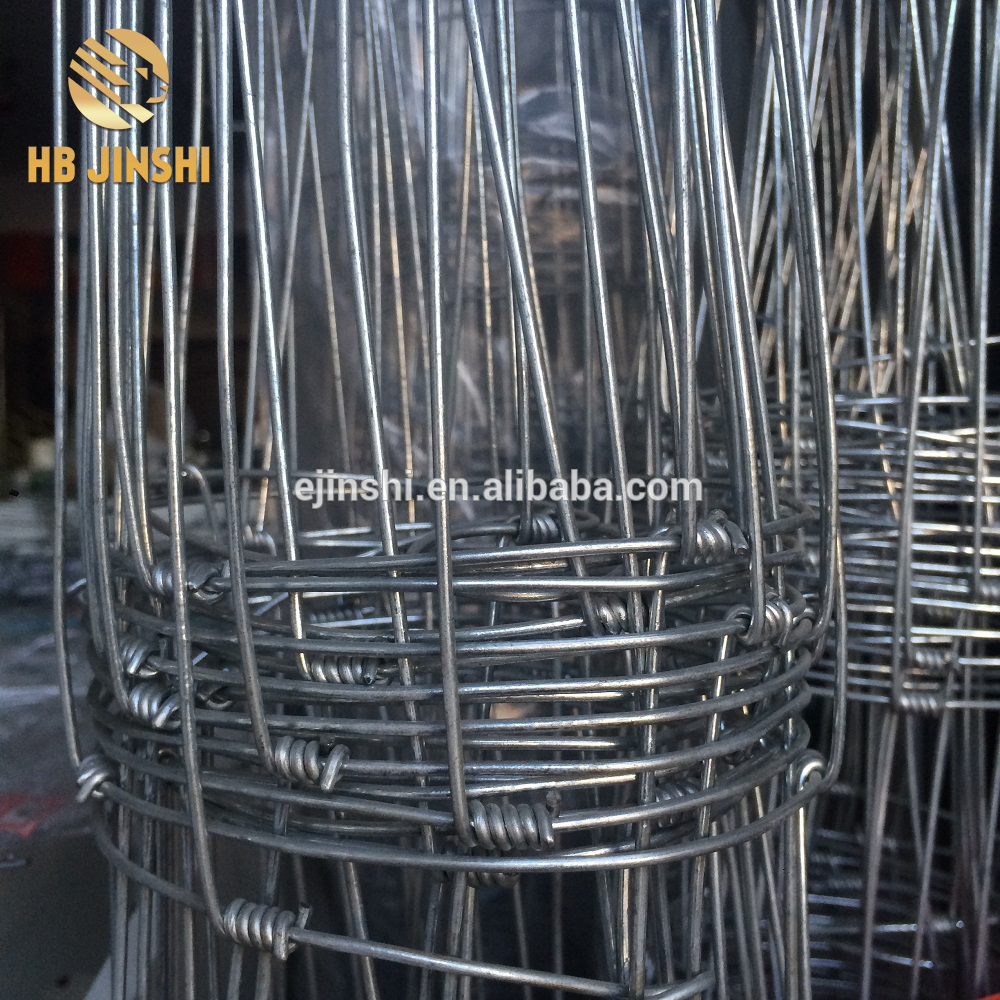 Galvanized Hinge joint field fence