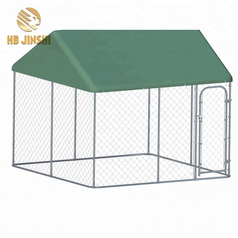 6ft High Galvanized Outdoor Chain Link Metal Kennel for dog run