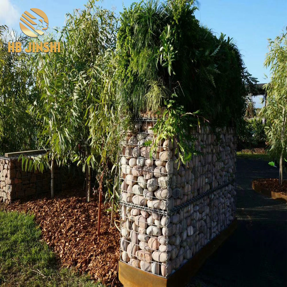 Gabions walls welded gabion box