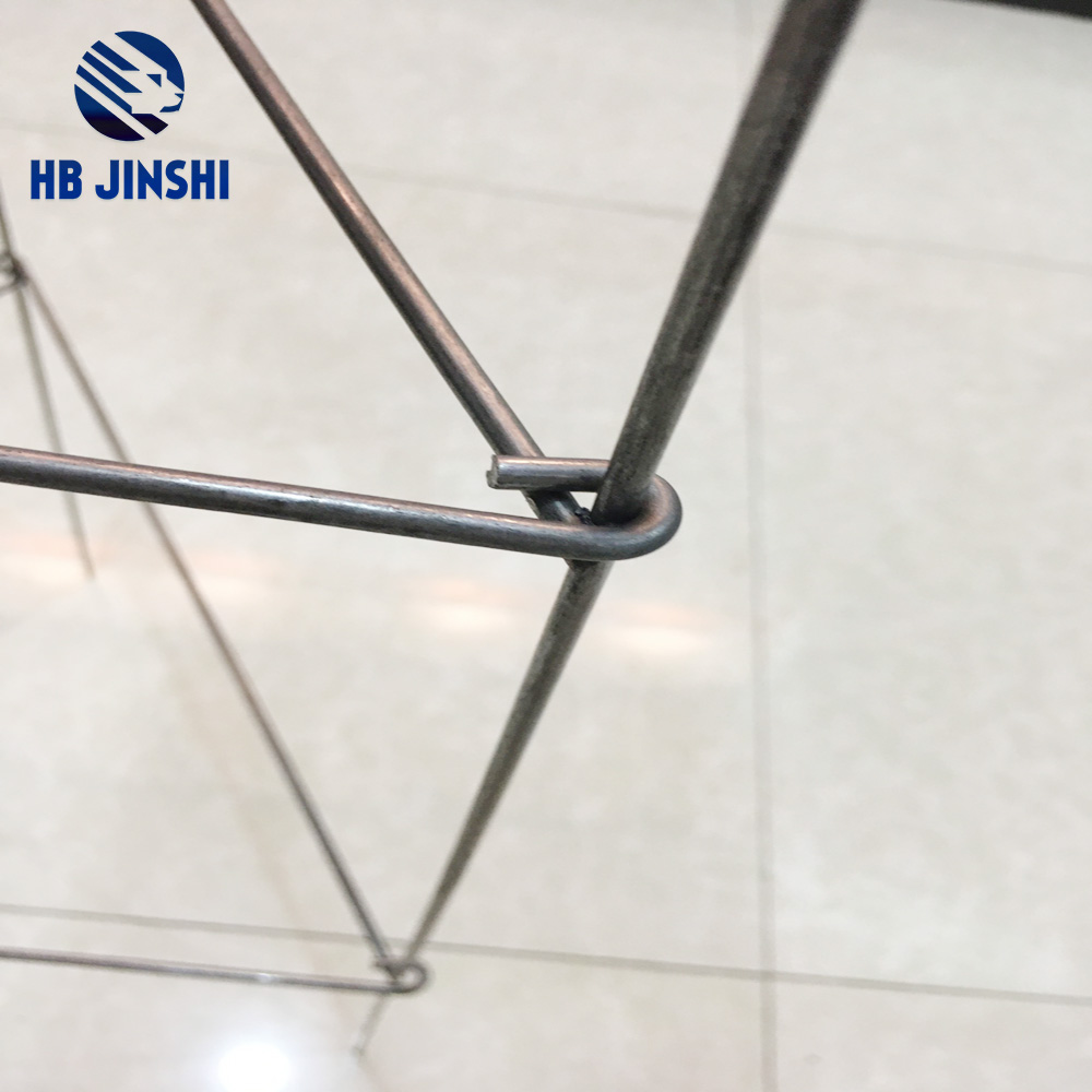 1.2m high flexible folding square type plant support made in China