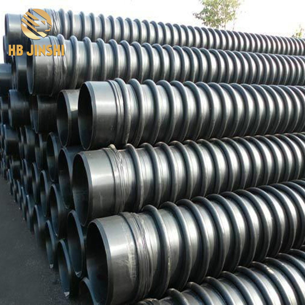 High-density polyethylene carat pipe