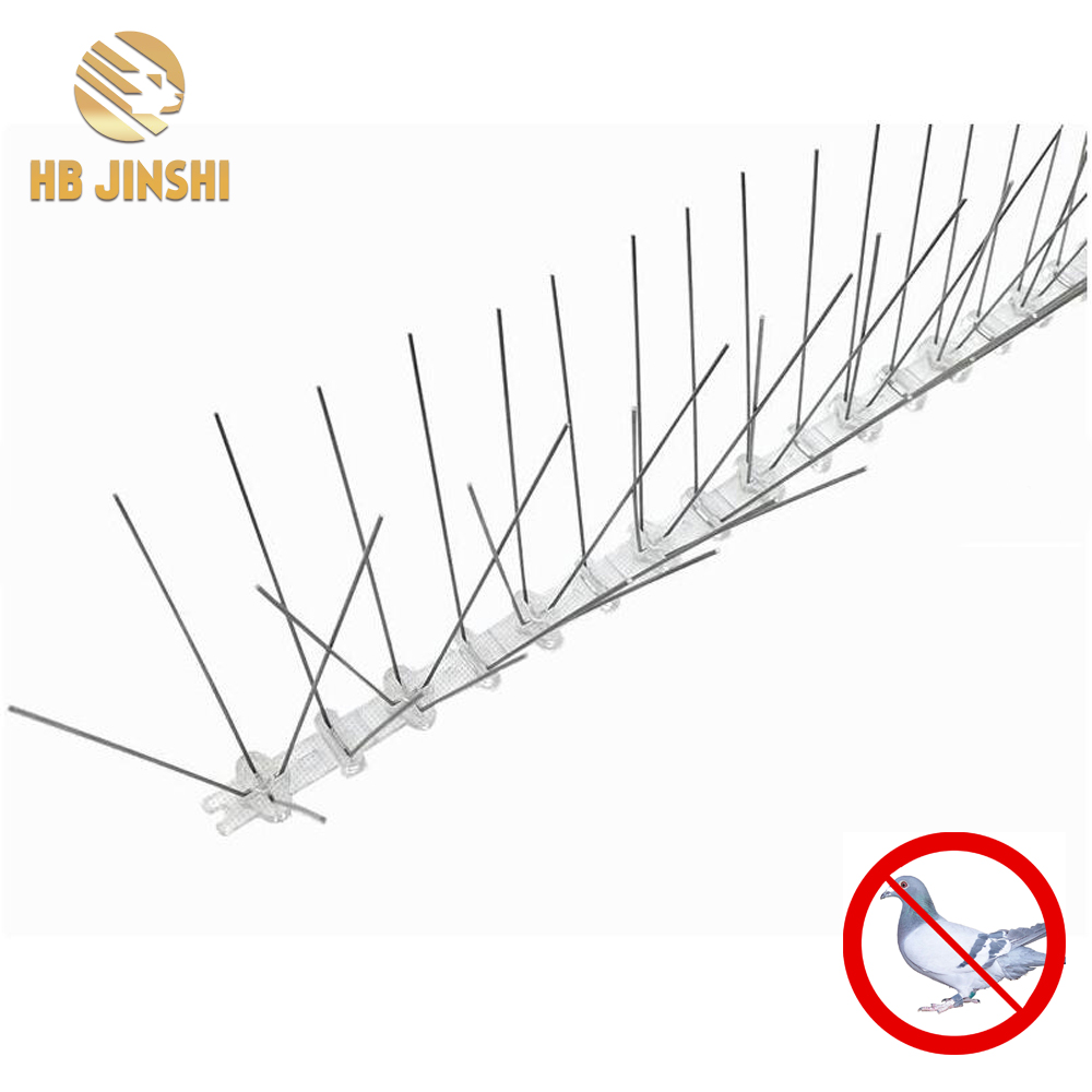 50cm PC base SS304 Spikes Anti Pigeon Repeller Bird Control Bird Spikes