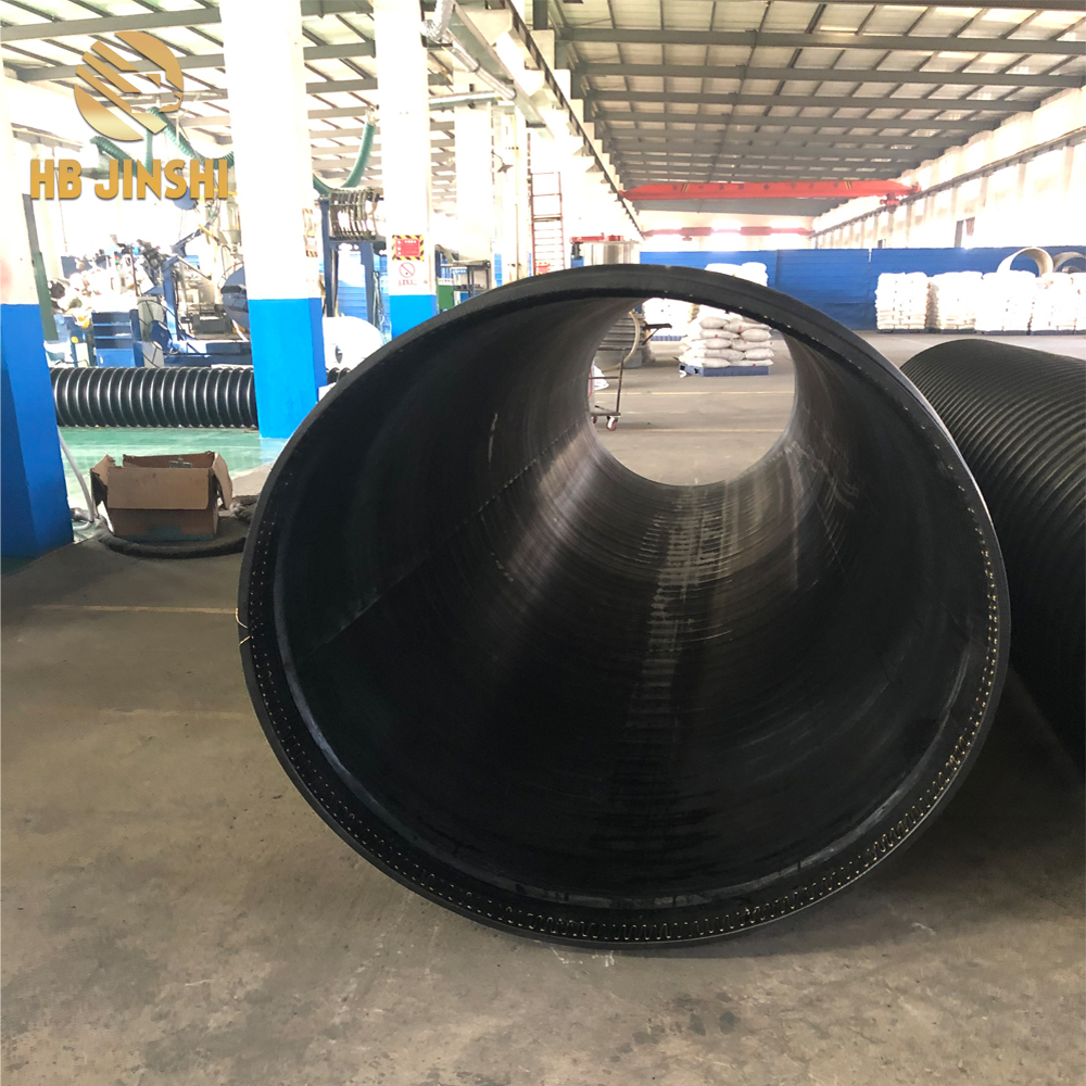 HDPE winding structure wall B type pipe road drainage pipe