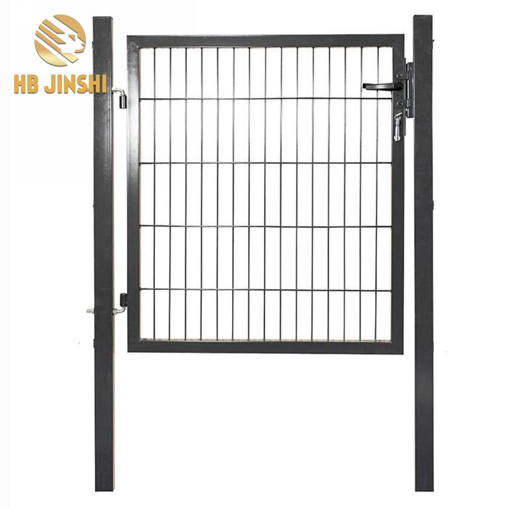 1.5m Green Color garden Gate, Welded Mesh Gate