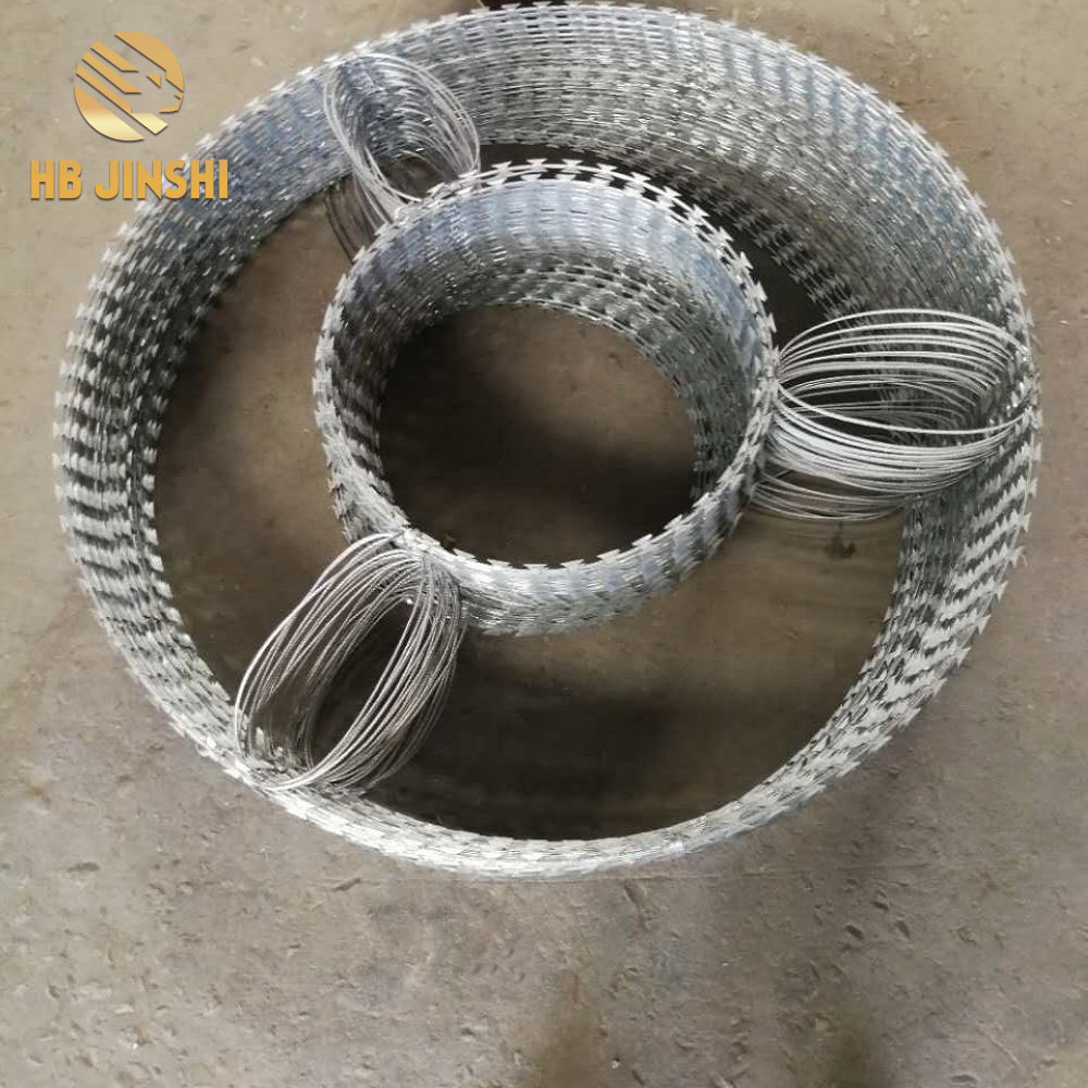 Bto-22 Military Concertina Razor Barbed Wire for Hot Sale