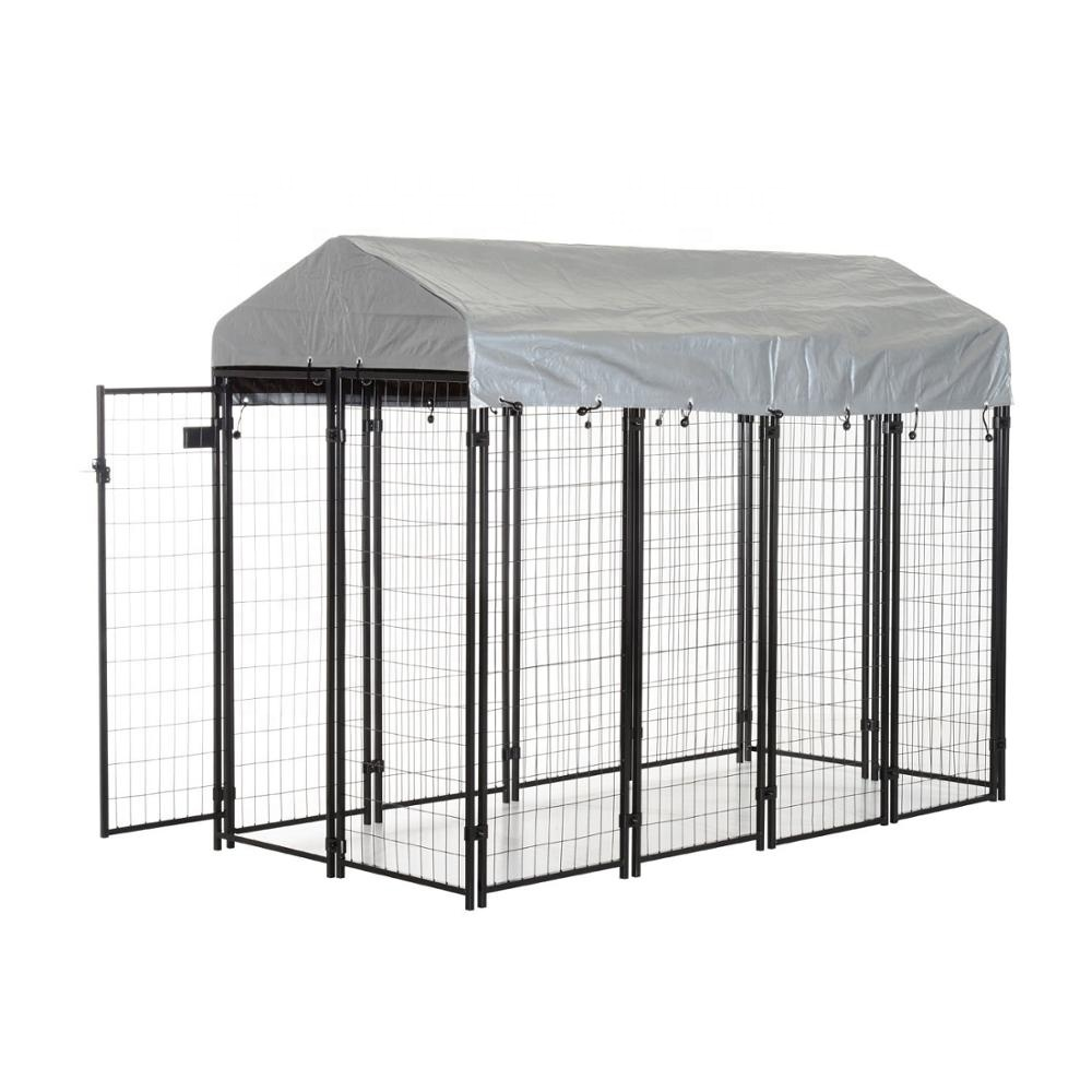 8 ft x 6 ft x 4 ft Metal Welded Dog cage
