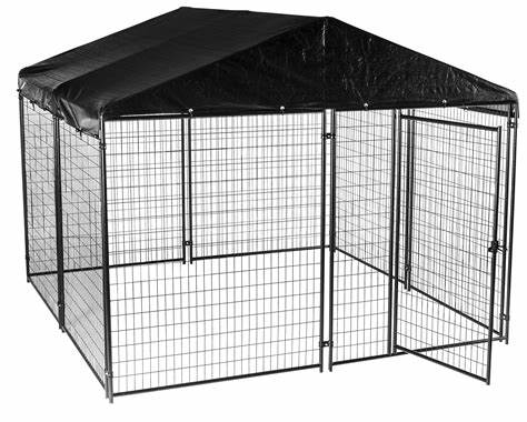 Metal Pet Cage, Collapsible Dog Cage