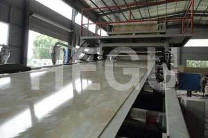 PVC machine sheet PVC machine sheet mermer qirêjbûn