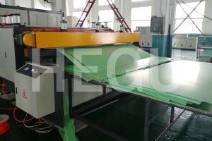 2100mm PE PP packing sheet production line