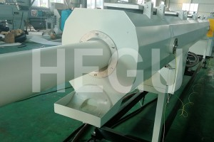 Newly Arrival Pp Pe Pvc Plastic Single Wall Corrugated Pipe Machine