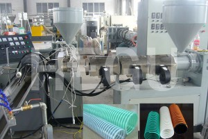 PVC pipe machine  PVC spiral hose making machine
