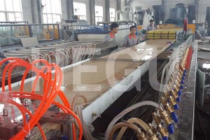 Wood Plastic WPC muchina wpc musuo Machine