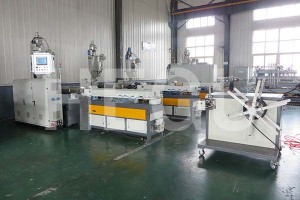 Corrugated pipe machine  high speed corrugated pipe machine