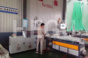 Personlized Products Pe/pvc Single Wall Corrugated Pipe Extrusion Production Line/pipe Making Line