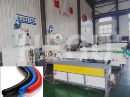 100% Original Flexible Corrugated Hdpe Plastic Pipe Machine Edb-200