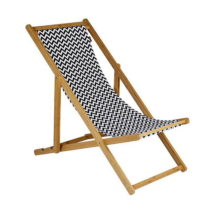 Adjustable Wood Beach Sling Chair   XH-X044