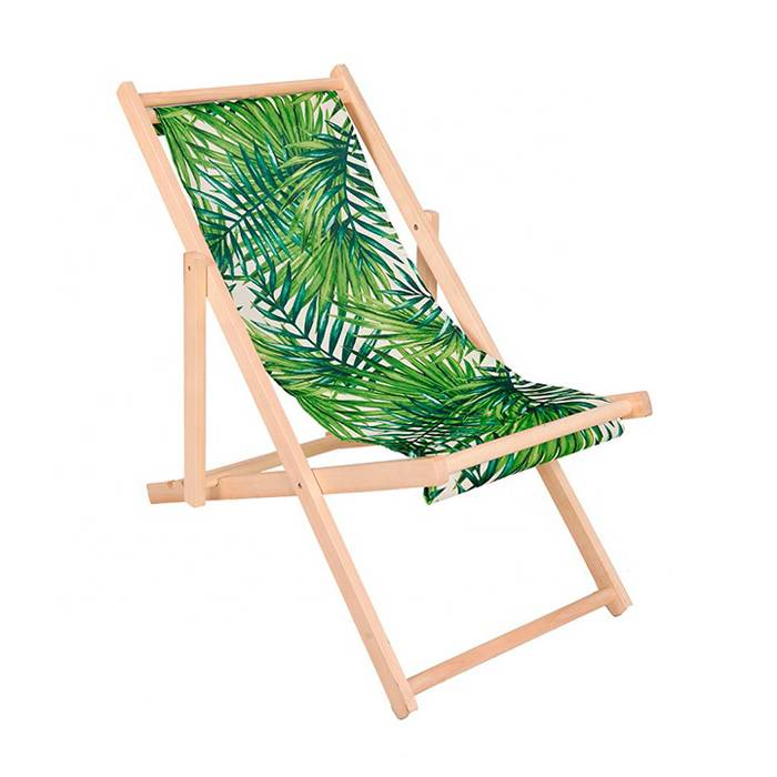 Portable Lunch Break Wooden chaise Lounger    XH-X040