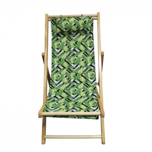 Wooden Folding Chair Perfect For Outdoor Lounging