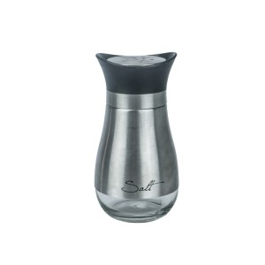 120ml Glass Salt and Pepper Shakers Dispenser with Perfectly Sized Holes