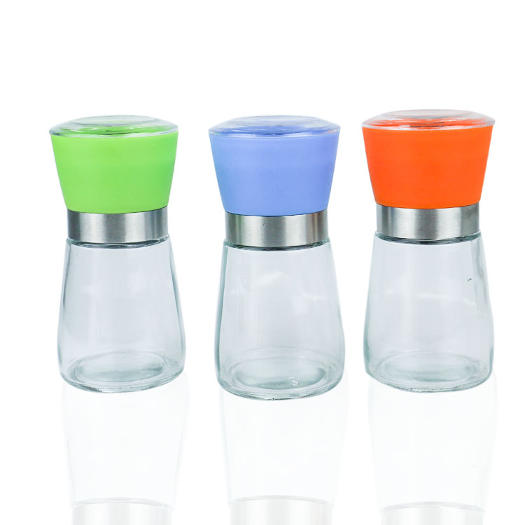 160ml glass Salt and Pepper Grinder Set Featured Image