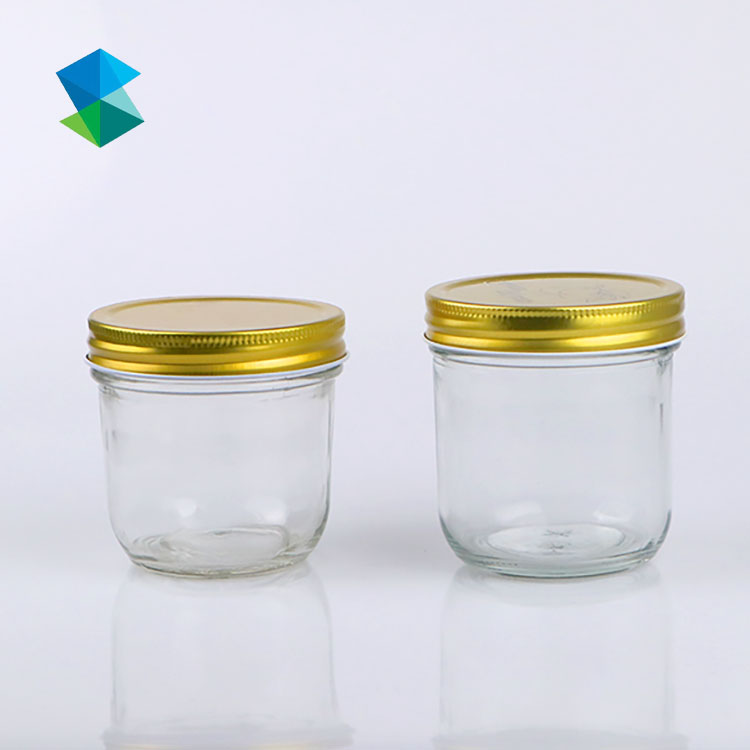 Hot sale  kitchen jar set storage food storage bottles jars with iron lid Featured Image