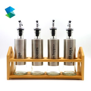 Olive Oil and Vinegar Bottle Set