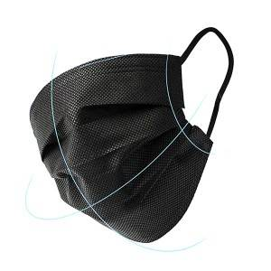 Civil Disposable Face Mask Black Color