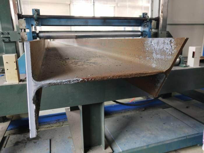 [International News] H Beam Cutting Machine Shipped to Singapore