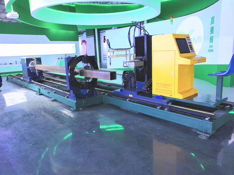 Round Pipe Cutting Machine Delivered on Schedule