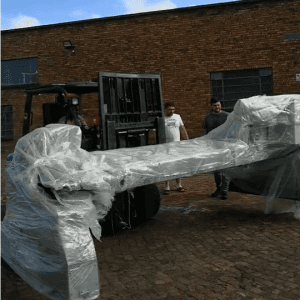 South Africa Warehouse Delivered Another CNC Cutting Machine