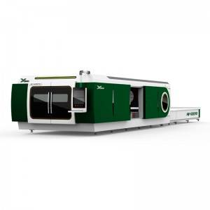 Laser cutting machine Full closed exchange desktop type
