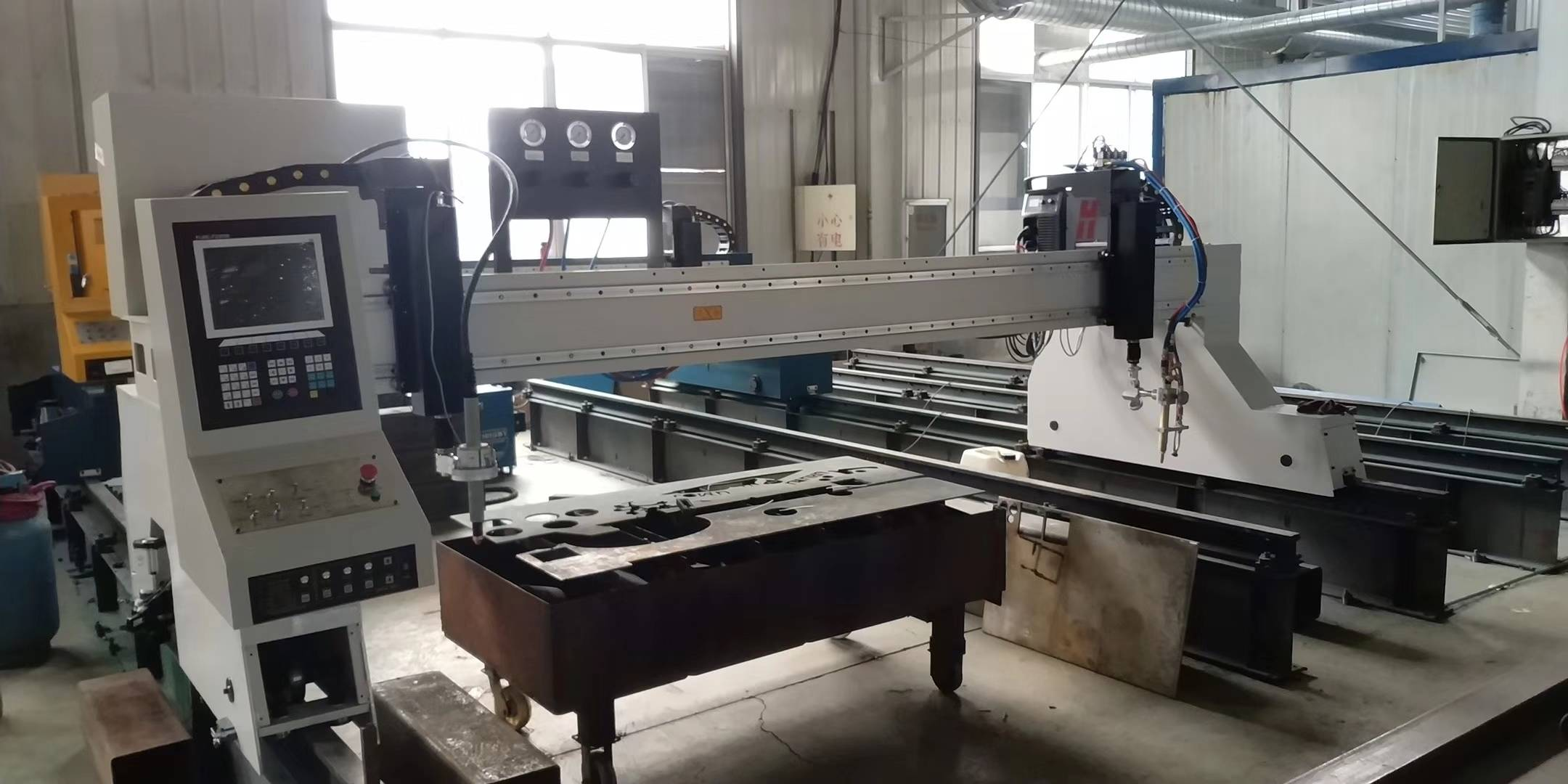 Gantry Machine for Tanzania Customer Ukulungele Ukukhulula