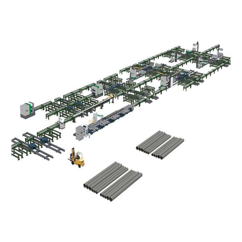 Pipe Prefabrication Production line Featured Image