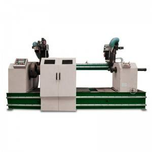 Welding machine for circular seam