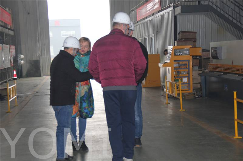 Russian Customers Visit Yomi Factory