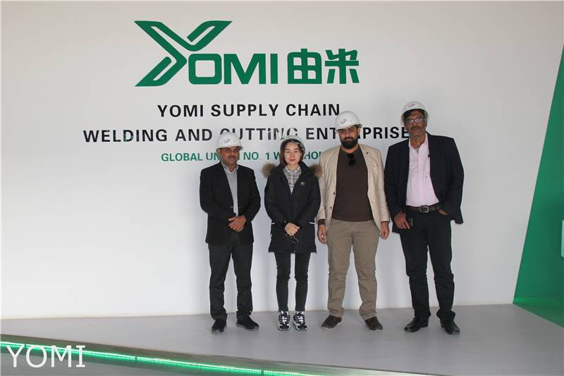 Yomi Factory Welcome Foreign Customers to visit