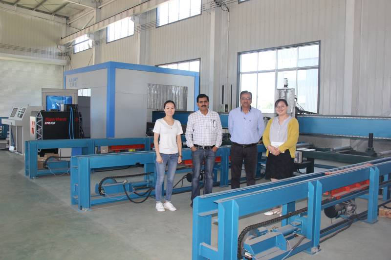 Indian Customers Visiting Yomi Factory