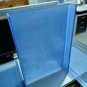 Tinted & Ceramic Frit & Frosted-Low-E  U Profile Glass/U Channel Glass